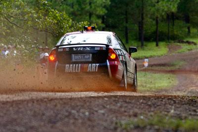 0;050605ARC;4-June-2005;ARC;Australia;Australian-Rally-Championship;Coates-Rally-Queensland;Hayes;Imbil;Mitsubishi-Magna;QLD;Queensland;Ross-Dunkerton;Sunshine-Coast;auto;motorsport;racing