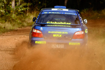 2;050605ARC;4-June-2005;ARC;Australia;Australian-Rally-Championship;Bill-Hayes;Coates-Rally-Queensland;Dean-Herridge;Imbil;QLD;Queensland;Subaru-Impreza-WRX;Sunshine-Coast;auto;motorsport;racing
