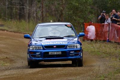 22;050605ARC;4-June-2005;ARC;Australia;Australian-Rally-Championship;Ben-Atkinson;Coates-Rally-Queensland;Imbil;QLD;Queensland;Subaru-Impreza-WRX;Sunshine-Coast;Tony-Sullens;auto;motorsport;racing