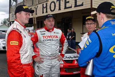 050605ARC;4-June-2005;ARC;Australia;Australian-Rally-Championship;Coates-Rally-Queensland;Dean-Herridge;Glen-Weston;Imbil;QLD;Queensland;Scott-Pedder;Simon-Evans;Sunshine-Coast;auto;motorsport;portrait;racing