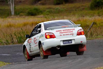 26;050605ARC;4-June-2005;ARC;Australia;Australian-Rally-Championship;Coates-Rally-Queensland;Eli-Evans;Imbil;Matt-McAdam;QLD;Queensland;Subaru-Impreza-RS;Sunshine-Coast;auto;motorsport;racing