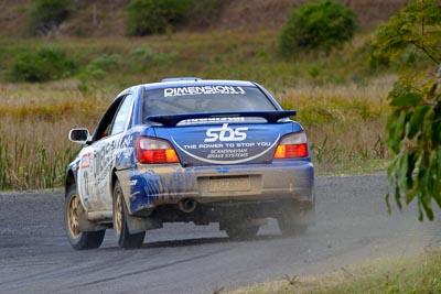 13;050605ARC;4-June-2005;ARC;Australia;Australian-Rally-Championship;Brad-Goldsbrough;Coates-Rally-Queensland;Imbil;Paul-Humm;QLD;Queensland;Subaru-Impreza-WRX-STI;Sunshine-Coast;auto;motorsport;racing