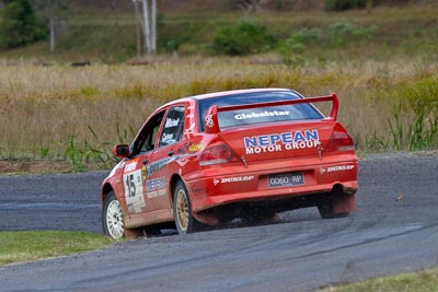 15;050605ARC;4-June-2005;ARC;Australia;Australian-Rally-Championship;Coates-Rally-Queensland;Evo-7;Imbil;Jo-Cadman;John-Mitchell;Mitsubishi-Lancer;Mitsubishi-Lancer-Evolution-VII;QLD;Queensland;Sunshine-Coast;auto;motorsport;racing