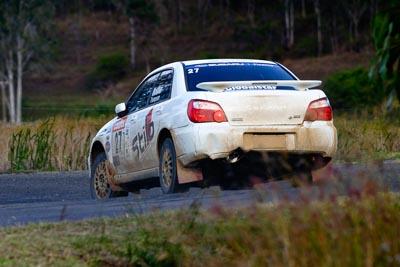 27;050605ARC;4-June-2005;ARC;Australia;Australian-Rally-Championship;Coates-Rally-Queensland;Gavin-Mosher;Imbil;QLD;Queensland;Rita-Thompson;Subaru-Impreza-RS;Sunshine-Coast;auto;motorsport;racing