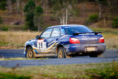 29;4-June-2005;ARC;Australia;Australian-Rally-Championship;Coates-Rally-Queensland;Imbil;John-Anderson;Paul-Batten;QLD;Queensland;Subaru-Impreza-RS;Sunshine-Coast;Topshot;auto;motorsport;racing