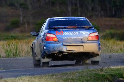 17;050605ARC;4-June-2005;ARC;Australia;Australian-Rally-Championship;Coates-Rally-Queensland;Imbil;QLD;Queensland;Subaru-Impreza-RS;Sunshine-Coast;Toni-Feaver;Will-Orders;auto;motorsport;racing