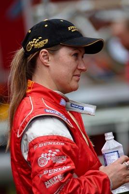 050605ARC;5-June-2005;ARC;Australia;Australian-Rally-Championship;Coates-Rally-Queensland;Imbil;Jo-Cadman;QLD;Queensland;Sunshine-Coast;auto;motorsport;portrait;racing