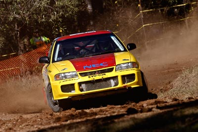 5;17-June-2006;ARC;Australia;Australian-Rally-Championship;Dale-Moscatt;Evo-3;Imbil;Kelvin-Croker;Mitsubishi-Lancer;Mitsubishi-Lancer-Evolution-III;Off‒Road;QLD;Queensland;Sunshine-Coast;auto;motorsport;racing;telephoto
