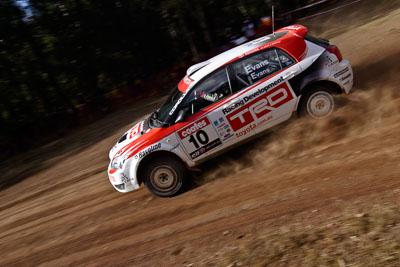 10;17-June-2006;ARC;Australia;Australian-Rally-Championship;Imbil;Off‒Road;QLD;Queensland;Simon-Evans;Sue-Evans;Sunshine-Coast;Team-TRD;Toyota-Corolla-Sportivo;auto;motorsport;racing;wide-angle