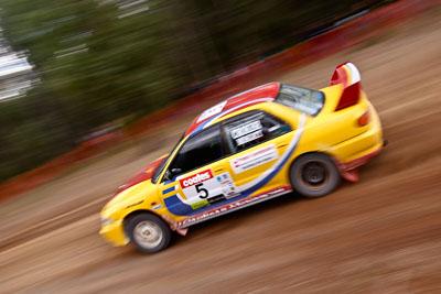 5;17-June-2006;ARC;Australia;Australian-Rally-Championship;Dale-Moscatt;Evo-3;Imbil;Kelvin-Croker;Mitsubishi-Lancer;Mitsubishi-Lancer-Evolution-III;Off‒Road;QLD;Queensland;Sunshine-Coast;auto;motorsport;movement;racing;speed;wide-angle