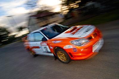 12;18-June-2006;ARC;Australia;Australian-Rally-Championship;Darren-Windus;Imbil;Jonathon-Mortimer;QLD;Queensland;Subaru-Impreza-WRX;Sunshine-Coast;auto;motorsport;movement;racing;speed;wide-angle
