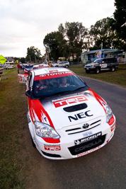 10;18-June-2006;ARC;Australia;Australian-Rally-Championship;Imbil;QLD;Queensland;Simon-Evans;Sue-Evans;Sunshine-Coast;Team-TRD;Toyota-Corolla-Sportivo;auto;motorsport;racing;wide-angle