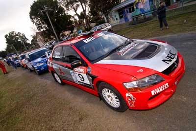 9;18-June-2006;ARC;Australia;Australian-Rally-Championship;Evo-9;Glen-Weston;Imbil;Mitsubishi-Lancer;Mitsubishi-Lancer-Evolution-IX;Mitsubishi-Team-RalliArt;QLD;Queensland;Scott-Pedder;Sunshine-Coast;auto;motorsport;movement;racing;speed;wide-angle