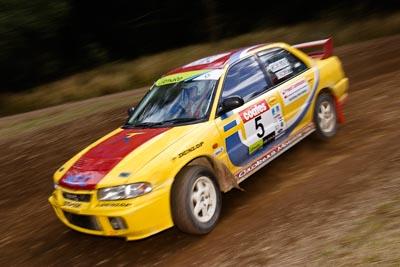 5;18-June-2006;ARC;Australia;Australian-Rally-Championship;Dale-Moscatt;Evo-3;Imbil;Kelvin-Croker;Mitsubishi-Lancer;Mitsubishi-Lancer-Evolution-III;QLD;Queensland;Sunshine-Coast;auto;motorsport;racing;wide-angle