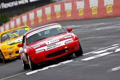 158;1995-Mazda-MX‒5;21-March-2008;Australia;Bathurst;FOSC;Festival-of-Sporting-Cars;Marque-and-Production-Sports;Mazda-MX‒5;Mazda-MX5;Mazda-Miata;Mt-Panorama;NSW;New-South-Wales;Sarah-Harley;auto;motorsport;racing;super-telephoto