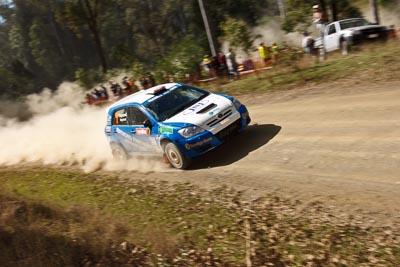 7;21-June-2008;ARC;Australia;Australian-Rally-Championship;Glen-Raymond;Matt-Raymond;QLD;Queensland;Sunshine-Coast;Toyota-Corolla-Sportivo;auto;motorsport;racing;wide-angle