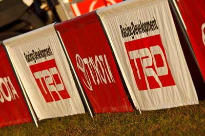 21-June-2008;ARC;Australia;Australian-Rally-Championship;QLD;Queensland;Sunshine-Coast;TRD;Toyota;Toyota-Racing-Development;atmosphere;auto;barrier;detail;fence;motorsport;racing;service-park;sign;super-telephoto
