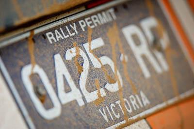0425RP;21-June-2008;ARC;Australia;Australian-Rally-Championship;QLD;Queensland;Sunshine-Coast;atmosphere;auto;detail;licence-plate;motorsport;racing;service-park;super-telephoto