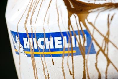21-June-2008;ARC;Australia;Australian-Rally-Championship;Michelin;QLD;Queensland;Sunshine-Coast;atmosphere;auto;bumper;detail;dirt;logo;motorsport;racing;service-park;super-telephoto