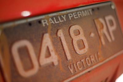 0418RP;21-June-2008;50mm;ARC;Australia;Australian-Rally-Championship;QLD;Queensland;Sunshine-Coast;atmosphere;auto;detail;dirt;licence-plate;motorsport;movement;racing;service-park;speed