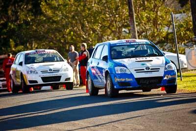 7;22-June-2008;ARC;Australia;Australian-Rally-Championship;Glen-Raymond;Imbil;Matt-Raymond;QLD;Queensland;Sunshine-Coast;Toyota-Corolla-Sportivo;atmosphere;auto;motorsport;racing;service-park;telephoto