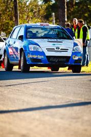 7;22-June-2008;ARC;Australia;Australian-Rally-Championship;Glen-Raymond;Imbil;Matt-Raymond;QLD;Queensland;Sunshine-Coast;Toyota-Corolla-Sportivo;auto;motorsport;racing;service-park;telephoto