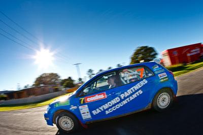 7;22-June-2008;ARC;Australia;Australian-Rally-Championship;Glen-Raymond;Imbil;Matt-Raymond;QLD;Queensland;Sunshine-Coast;Toyota-Corolla-Sportivo;auto;fisheye;motorsport;racing;service-park