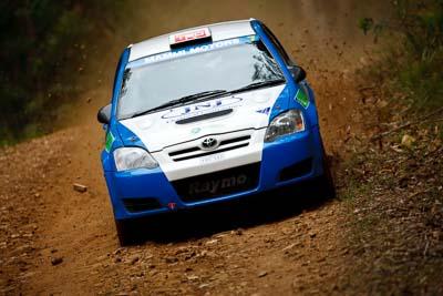7;14-November-2008;ARC;Australia;Australian-Rally-Championship;Coffs-Coast;Coffs-Harbour;Glen-Raymond;Matt-Raymond;NSW;New-South-Wales;Toyota-Corolla-Sportivo;auto;media-day;motorsport;racing;super-telephoto
