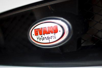 14-November-2008;50mm;ARC;Australia;Australian-Rally-Championship;Coffs-Coast;Coffs-Harbour;Evans-Motorsport;NSW;New-South-Wales;auto;close‒up;detail;logo;media-day;motorsport;racing