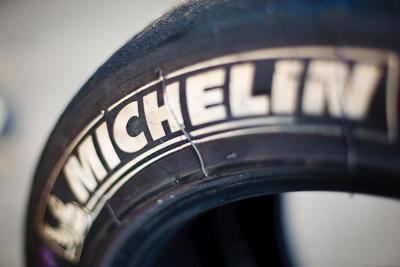 21-November-2008;50mm;Australia;Island-Magic;Melbourne;Michelin;PIARC;Phillip-Island;VIC;Victoria;auto;brand;close‒up;detail;logo;motorsport;movement;racing;speed;tyre