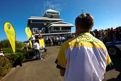 23-November-2008;Australia;Island-Magic;Melbourne;PIARC;Phillip-Island;VIC;Victoria;auto;crowd;motorsport;people;podium;racing;spectators;wide-angle