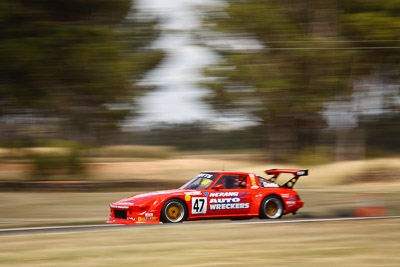 47;7-March-2009;Australia;Mazda-RX‒7;Morgan-Park-Raceway;QLD;Queensland;Robert-Coutts;Warwick;auto;motion-blur;motorsport;racing;telephoto