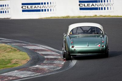 34;10-April-2009;1959-Austin-Healey-3000;Australia;Bathurst;Brian-Duffy;FOSC;Festival-of-Sporting-Cars;Historic-Sports-Cars;Mt-Panorama;NSW;New-South-Wales;RFE437;auto;classic;motorsport;racing;super-telephoto;vintage