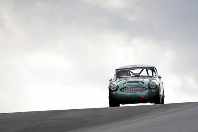 34;12-April-2009;1959-Austin-Healey-3000;Australia;Bathurst;Brian-Duffy;FOSC;Festival-of-Sporting-Cars;Historic-Sports-Cars;Mt-Panorama;NSW;New-South-Wales;RFE437;auto;classic;motorsport;racing;super-telephoto;vintage