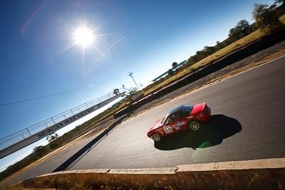 58;6-June-2009;Australia;Group-2F;Mazda-MX‒5;Mazda-MX5;Mazda-Miata;Morgan-Park-Raceway;QLD;Queensland;Sarah-Harley;Warwick;auto;motorsport;racing;sky;sun;wide-angle