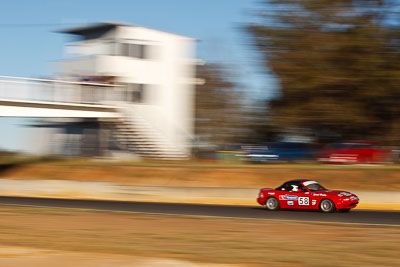 58;6-June-2009;Australia;Group-2F;Mazda-MX‒5;Mazda-MX5;Mazda-Miata;Morgan-Park-Raceway;QLD;Queensland;Sarah-Harley;Warwick;auto;motion-blur;motorsport;racing;telephoto