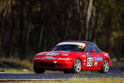 58;7-June-2009;Australia;Group-2F;Mazda-MX‒5;Mazda-MX5;Mazda-Miata;Morgan-Park-Raceway;QLD;Queensland;Sarah-Harley;Warwick;auto;motorsport;racing;super-telephoto