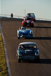 34;1959-Austin-Healey-3000;25-July-2009;Australia;Brian-Duffy;FOSC;Festival-of-Sporting-Cars;Group-S;NSW;Narellan;New-South-Wales;Oran-Park-Raceway;auto;classic;historic;motorsport;racing;super-telephoto;vintage