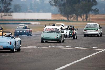 34;1959-Austin-Healey-3000;26-July-2009;Australia;Brian-Duffy;FOSC;Festival-of-Sporting-Cars;Group-S;NSW;Narellan;New-South-Wales;Oran-Park-Raceway;auto;classic;historic;motorsport;racing;super-telephoto;vintage