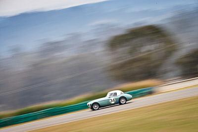 34;1959-Austin-Healey-3000;26-July-2009;Australia;Brian-Duffy;FOSC;Festival-of-Sporting-Cars;Group-S;NSW;Narellan;New-South-Wales;Oran-Park-Raceway;auto;classic;historic;motion-blur;motorsport;racing;super-telephoto;vintage