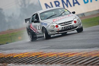 3;1998-Ford-Falcon-AU;26-July-2009;Australia;FOSC;Festival-of-Sporting-Cars;Improved-Production;NSW;Narellan;New-South-Wales;Oran-Park-Raceway;Sam-Maio;auto;motorsport;racing;super-telephoto