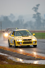 101;1996-Subaru-Impreza-WRX-STi;26-July-2009;Australia;FOSC;Festival-of-Sporting-Cars;Franck-Donniaux;Improved-Production;NSW;Narellan;New-South-Wales;Oran-Park-Raceway;auto;motorsport;racing;super-telephoto