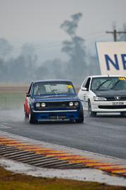 16;1970-Datsun-1600;26-July-2009;Australia;FOSC;Festival-of-Sporting-Cars;Improved-Production;Mark-Short;NSW;Narellan;New-South-Wales;Oran-Park-Raceway;auto;motorsport;racing;super-telephoto