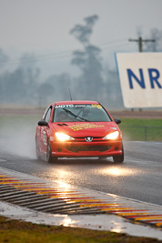206;2004-Peugeot-206-GTi;26-July-2009;Australia;Carly-Black;FOSC;Festival-of-Sporting-Cars;Improved-Production;NSW;Narellan;New-South-Wales;Oran-Park-Raceway;auto;motorsport;racing;super-telephoto