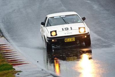 191;1977-Triumph-TR7-Coupe;26-July-2009;Australia;Bob-Saunders;FOSC;Festival-of-Sporting-Cars;NSW;Narellan;New-South-Wales;Oran-Park-Raceway;Regularity;WEJ383;auto;motorsport;racing;super-telephoto