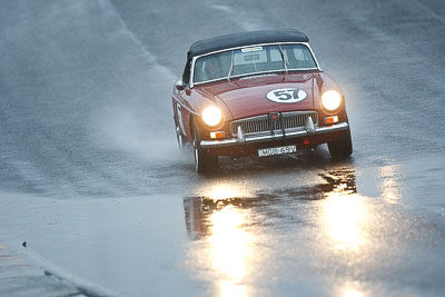 57;1969-MGB-Mk-II;26-July-2009;Australia;FOSC;Festival-of-Sporting-Cars;MGB69V;NSW;Narellan;New-South-Wales;Oran-Park-Raceway;Philip-Powell;Regularity;auto;motorsport;racing;super-telephoto