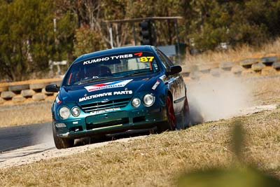 87;7-August-2009;Australia;David-Rogers;Ford-Falcon-AU;Morgan-Park-Raceway;QLD;Queensland;Saloon-Cars;Shannons-Nationals;Warwick;auto;motorsport;racing;super-telephoto