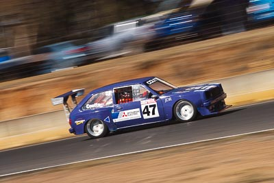 47;8-August-2009;Australia;Mazda-323;Morgan-Park-Raceway;QLD;Queensland;Robert-Coutts;Shannons-Nationals;Warwick;auto;motion-blur;motorsport;racing;telephoto