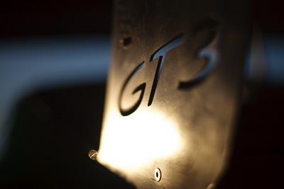 50mm;9-August-2009;Australia;Morgan-Park-Raceway;Porsche-911-GT3;Porsche-GT3-Cup;QLD;Queensland;Shannons-Nationals;Warwick;atmosphere;auto;brand;close‒up;detail;logo;morning;motorsport;paddock;racing