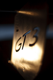 50mm;9-August-2009;Australia;Morgan-Park-Raceway;Porsche-911-GT3;Porsche-GT3-Cup;QLD;Queensland;Shannons-Nationals;Topshot;Warwick;atmosphere;auto;brand;close‒up;detail;logo;morning;motorsport;paddock;racing